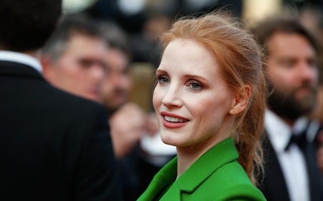 ジェシカ・チャステインは、カンヌの映画で女性の表現を見つけました「邪魔」