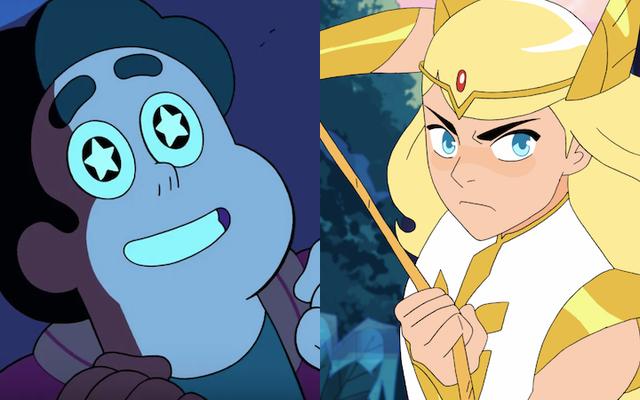 Steven Universe utorował drogę do magicznej reprezentacji queer She-Ra i nie tylko