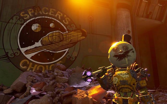 El primer DLC de The Outer Worlds es demasiado cínico para su propio bien