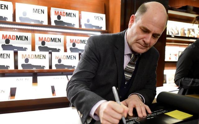 マシュー・ワイナーは、マッドメンの作家をセクハラしたことを覚えていないと言います