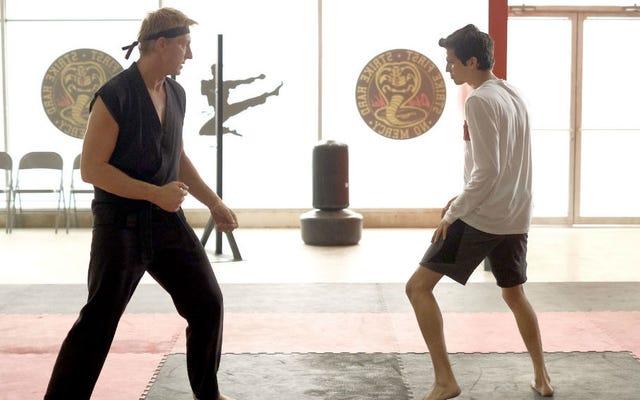 Twórcy i gwiazdy Cobra Kai omawiają okazywanie szacunku światu Karate Kid