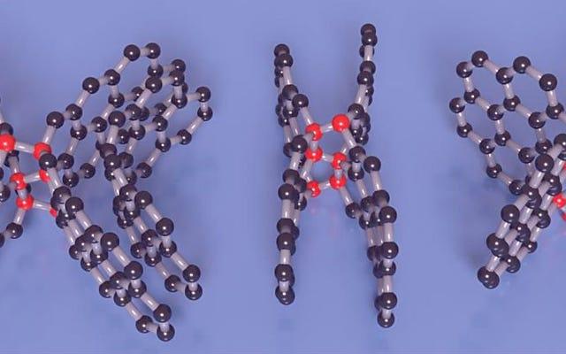 彼らは、金属と同じくらい耐性があるが、柔軟性もある新しい分子形態の炭素を発見します