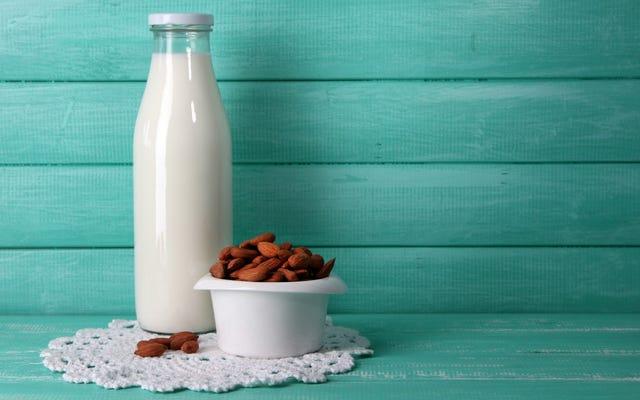 酪農家はあなたのアーモンドミルクがすぐにファックできると思います