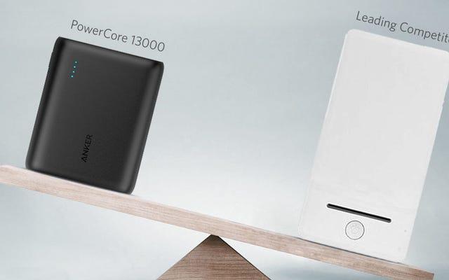 Anker заменил MicroUSB на USB-C на одной из самых популярных батарей