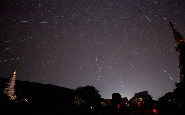 ふたご座流星群が今夜ピークに達するとき、毎分2つまたは3つの流星を見つけます