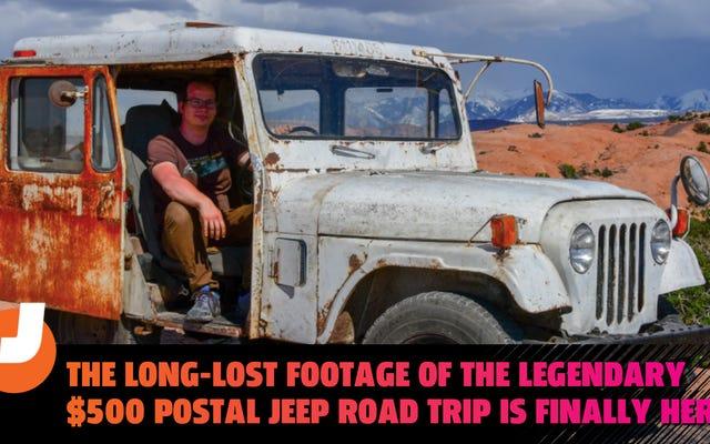 Las imágenes perdidas del legendario viaje por carretera en jeep postal de $ 500 finalmente están aquí el 1 de abril