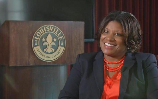 Louisville selle une femme noire avec un travail impossible de chef de police par intérim