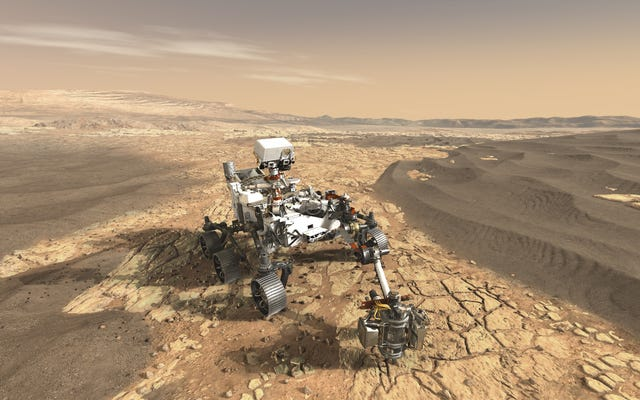 Настойчивость станет следующим марсоходом НАСА на Марсе