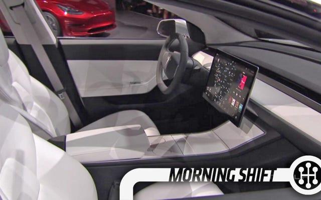 टेस्ला मॉडल 3 का मिनिमलिस्ट इंटीरियर कीमत को कम रखने की कुंजी हो सकता है