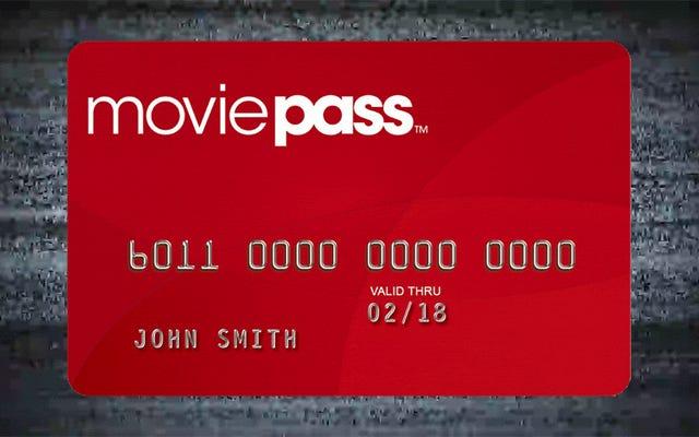 MoviePass Nukes Unlimited Plan pero no aumentará los precios