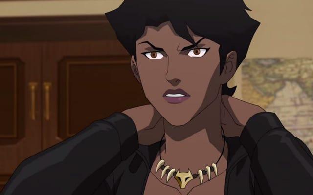 DCヒーロービクセンのアニメシリーズはついにそれに値する放送プレミアを取得しています