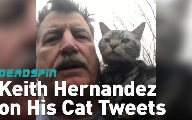 Banyak Hal Yang Ingin Dikatakan Keith Hernandez Dan Tidak Semuanya Di Twitter