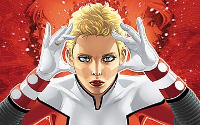 Supergirl Wirkt das Saturn-Mädchen der Legion der Superhelden