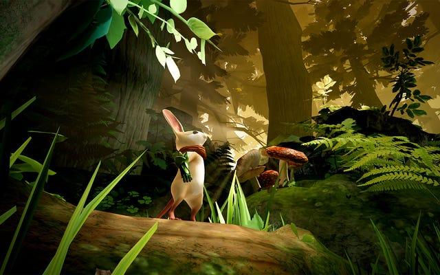VR Game Moss хочет сделать эту крошечную мышку вашим лучшим другом