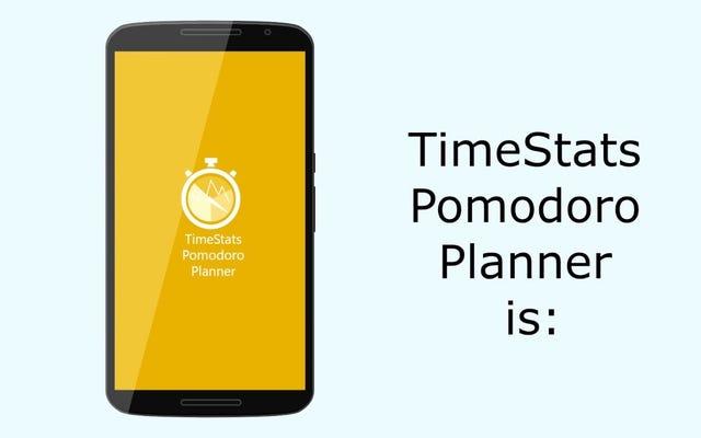 TimeStats PomodoroPlannerは究極のオールインワン生産性アプリです