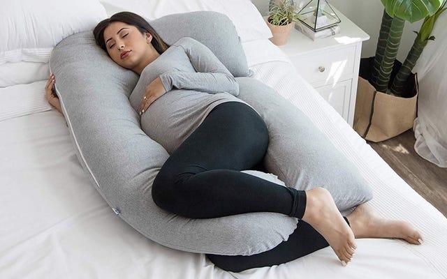 PharMeDoc प्रेग्नेंसी पिलो इकलौता कारण है जिससे मुझे नींद पूरी होती है