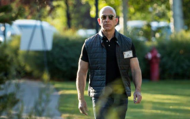 アマゾンCEOのジェフベゾスは世界で最も裕福な人になります