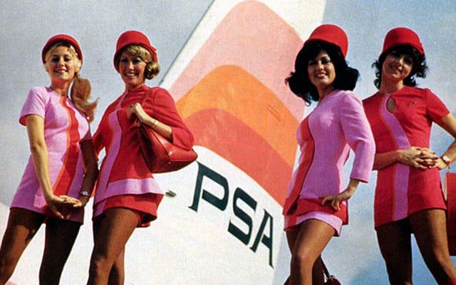 He aquí por qué a los asistentes de vuelo no les gusta que los llamen 'azafatas'