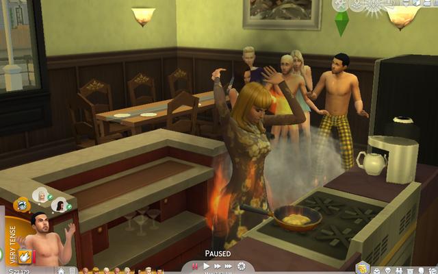 Actualización de Los Sims 4 Celebrity House: Kim Kardashian prendió fuego a la casa