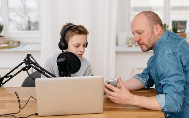 Comment démarrer un podcast avec vos enfants