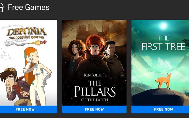今週のエピックから3つの無料アドベンチャーゲームを入手