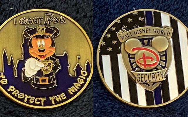 ディズニーセキュリティの非公式チャレンジコインは、別の種類のコレクターアイテムです
