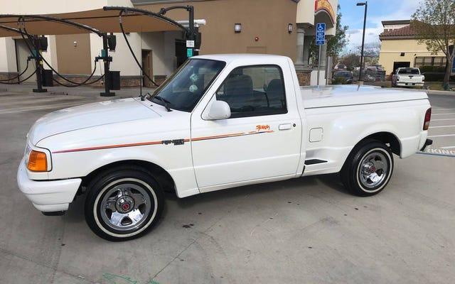 A $ 3,699, ¿esta Ford Ranger Splash Edition de 1994 hará algunas olas?
