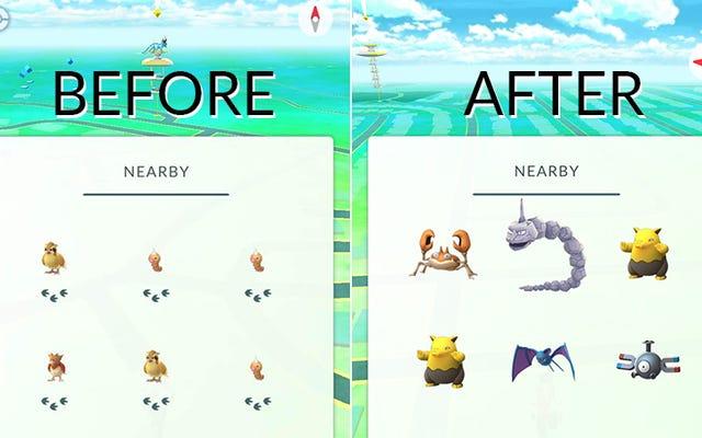 La mise à jour de Pokémon Go corrige un problème en trois étapes en supprimant complètement les étapes [Mise à jour]