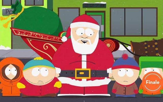 Tegridy Farmsは、サウスパークシーズンのフィナーレでクリスマスの打撃を提供します