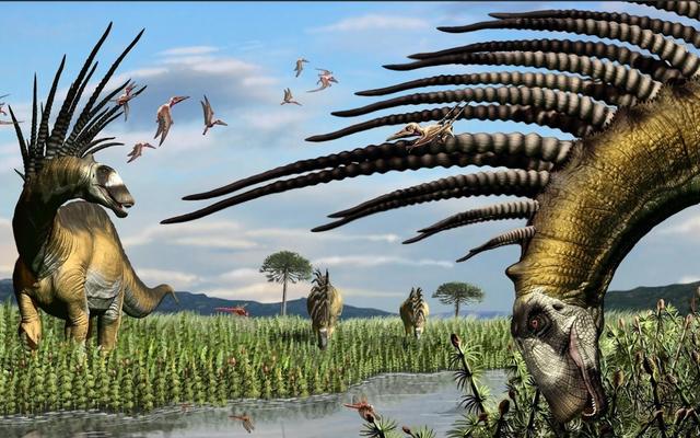 Khủng long có gai mới được phát hiện từ Nam Mỹ trông giống như sinh vật từ 'bầu trời không người'