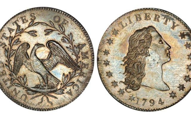 世界で最も価値のあるコインはわずか2世紀前のもので、1ドルから始まりました。