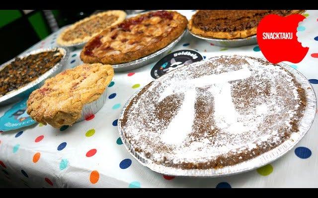 円周率の日でも、一度に6つのパイを処理することはできません