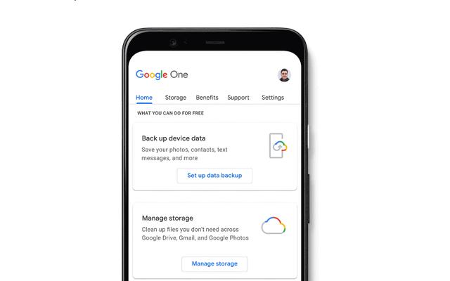 Giải phóng dung lượng trong tài khoản Google của bạn để bạn có thể sao lưu điện thoại của mình