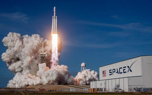 SpaceX freine son projet d'envoyer des touristes autour de la Lune