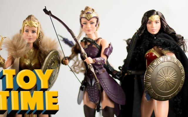 Wonder Woman sprawia, że Barbie wygląda dobrze