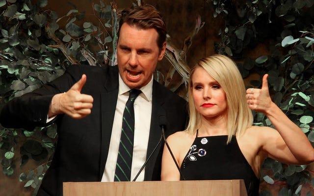 Kristen Bell y Dax Shepard fueron despedidos como propietarios