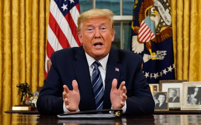 トランプ大統領のCOVID-19スピーチは一晩で修正されなければならなかった嘘でいっぱいでした