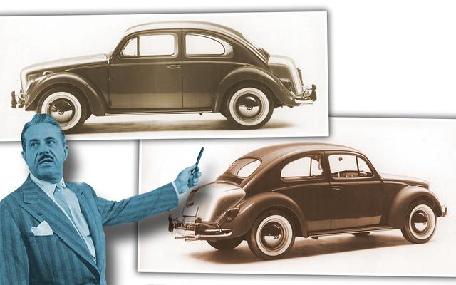 La leyenda del diseño de That Time Raymond Loewy llamó por teléfono en un Volkswagen Beetle actualizado