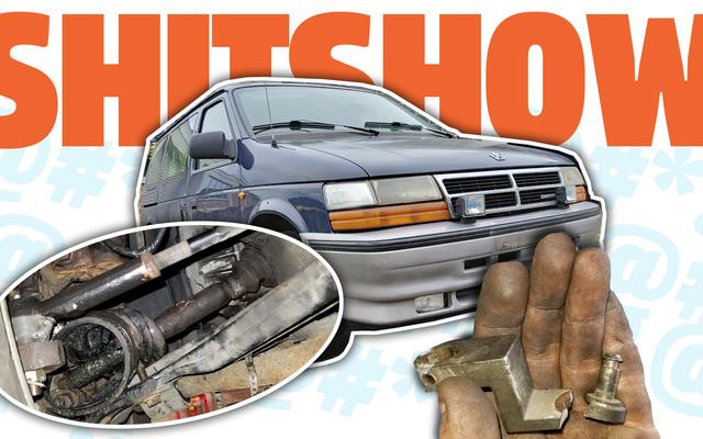 Por qué el fin de semana pasado fue un espectáculo de mierda para mi minivan Chrysler manual diesel de $ 600