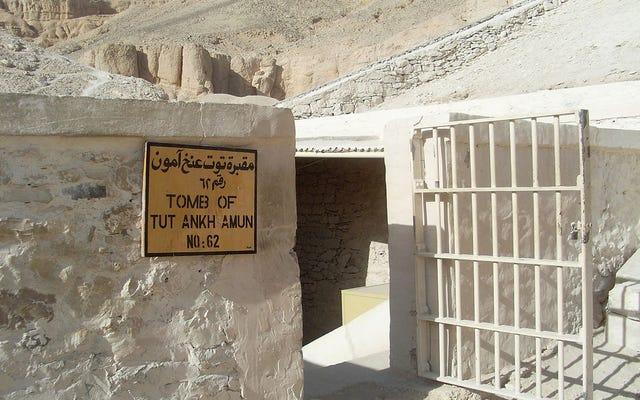 エジプト政府がTutankhamunの墓で新しいカメラ分析を発表することを拒否する理由