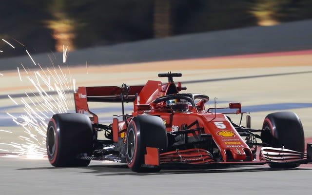 フェラーリのF1ピットストップは、機器の故障のためにひどい