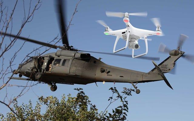 スタテンアイランド上空で軍用ヘリコプターに墜落した後、ドローンが深刻な被害をもたらした