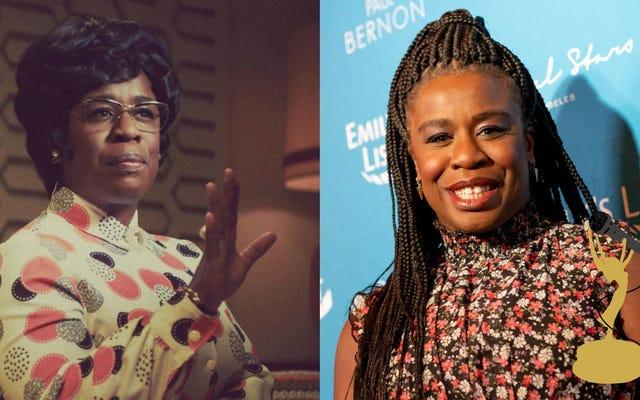 Uzo Aduba de la Sra. America explica cómo Shirley Chisholm allanó el camino para políticos como Kamala Harris