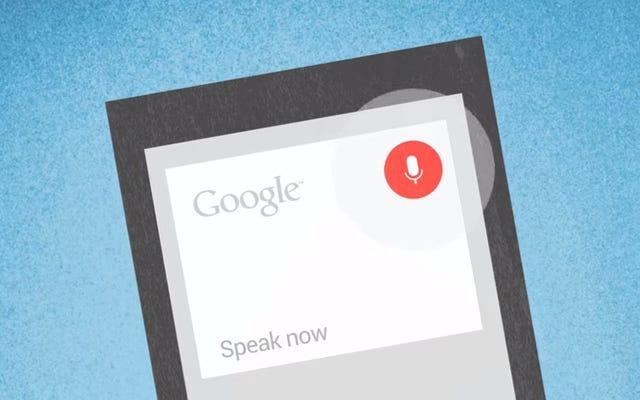 Google rejestruje wszystko, co mówisz do Google Now, więc możesz to usunąć
