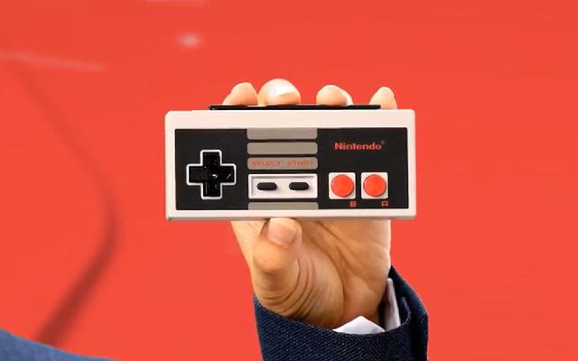 Nintendo Switch, NES Denetleyicileri Ediyor