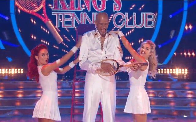 今週のスターと踊るオールアスリートはすべてキラキラと狂気でした