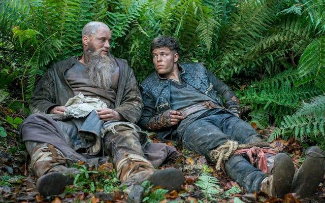 Rzucana przez burzę podróż Ragnara prowadzi do drzwi jego wroga na fascynującym Wikingach
