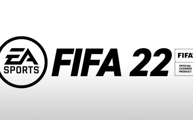 EA Games taquine un nouveau projet avec le nouveau logo cryptique `` FIFA 2022 ''