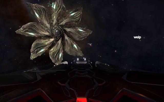 Elite: ผู้เล่นที่เป็นอันตรายได้พบมนุษย์ต่างดาวในที่สุด