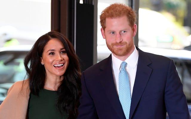 ハリーとメーガンはクリスマスに女王と一緒にスキップしている、多分アメリカのために